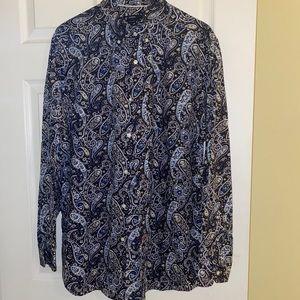 3/$15🌼Cremieux men's button down shirt